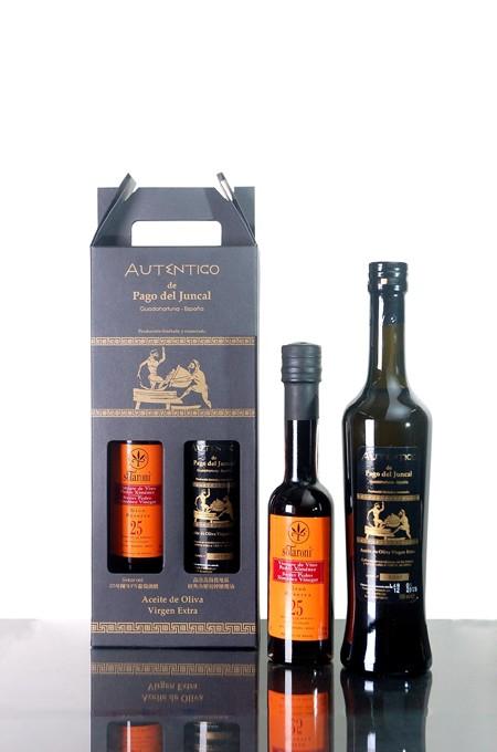 AUTENTICO限量橄欖油+葡萄酒醋禮盒(500ml)